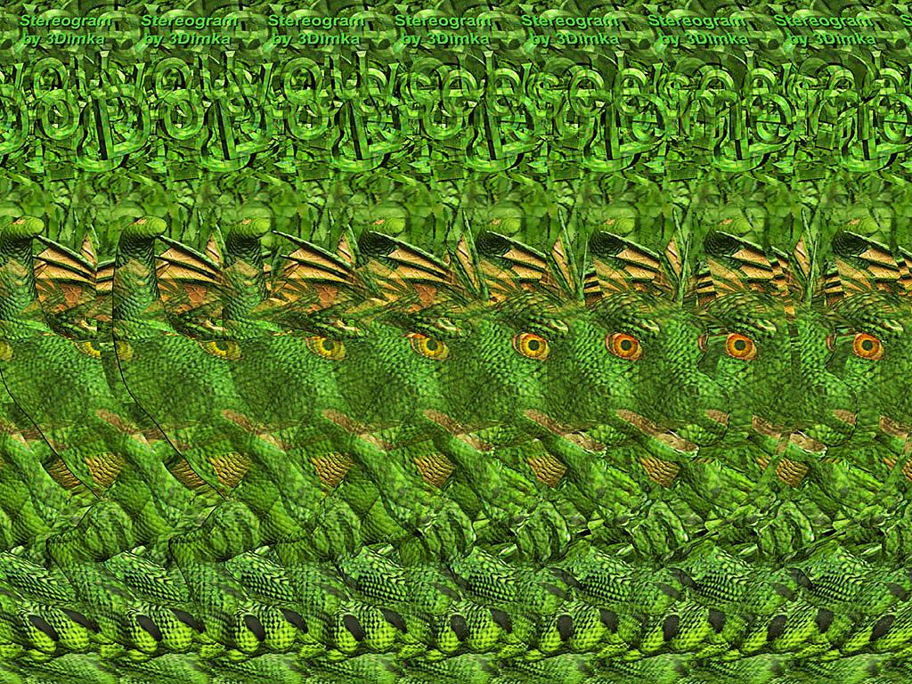 Stereogram by 3Dimka: Little Draco. Tags: dragon, eggs, hatchling, fantasy, hidden 3D picture (SIRDS)