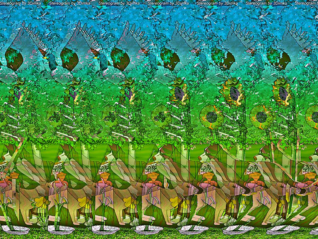 adopt the bunny stereogram images games video and