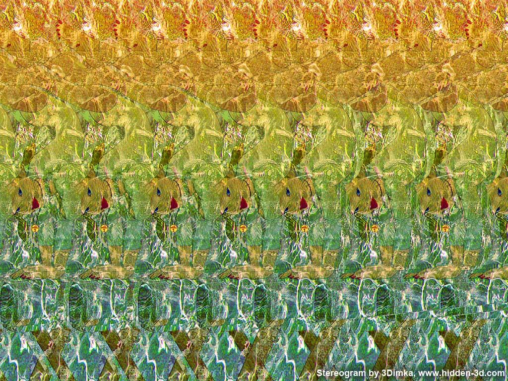 Stereogram by 3Dimka: Perfect balance. Tags: girl, gymnast, gymnastics, balance, beam, sport, hidden 3D picture (SIRDS)