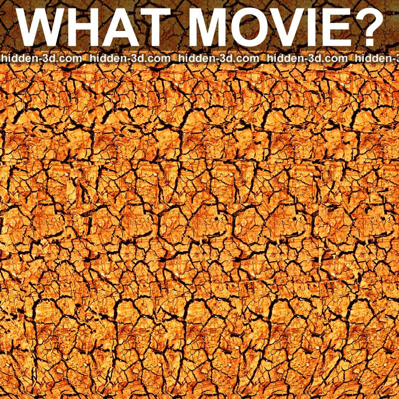 Stereogram by 3Dimka: Guess the movie. Tags: puzzle movie trivia wall-e, hidden 3D picture (SIRDS)
